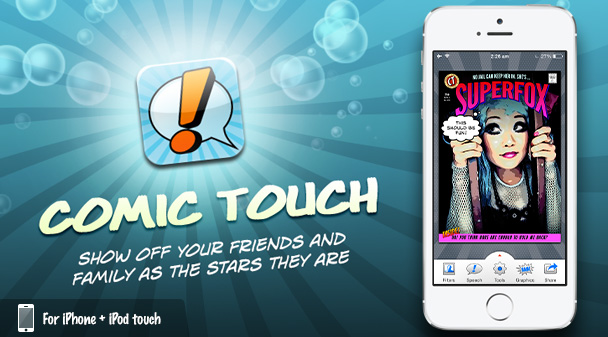 Comic Touch Illustration